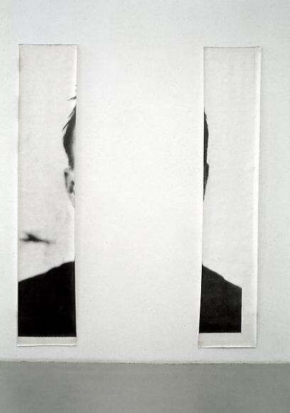 Michelangelo Pistoletto Le orecchie di Jasper Johns (The Ears of Jasper Johns), 1966