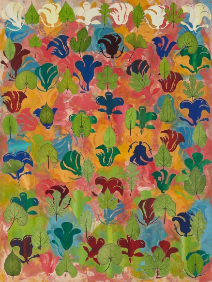 Philip Taaffe Flowering Leaves, 2019
