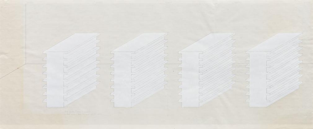 Rachel Whiteread Book Corridors, 1997
