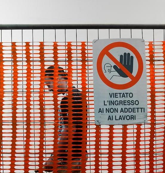 Michelangelo Pistoletto Lavoro - Vietato l'ingresso, 2008-2011