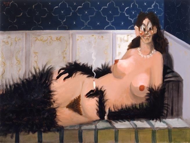 George Condo, Maja Vestida, 2005