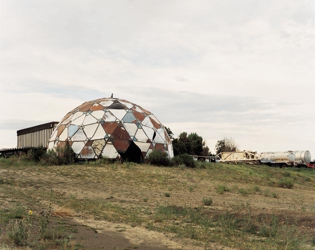 Joel Sternfeld Ruins of Drop City, Trinidad, Colorado, August 1995,2005