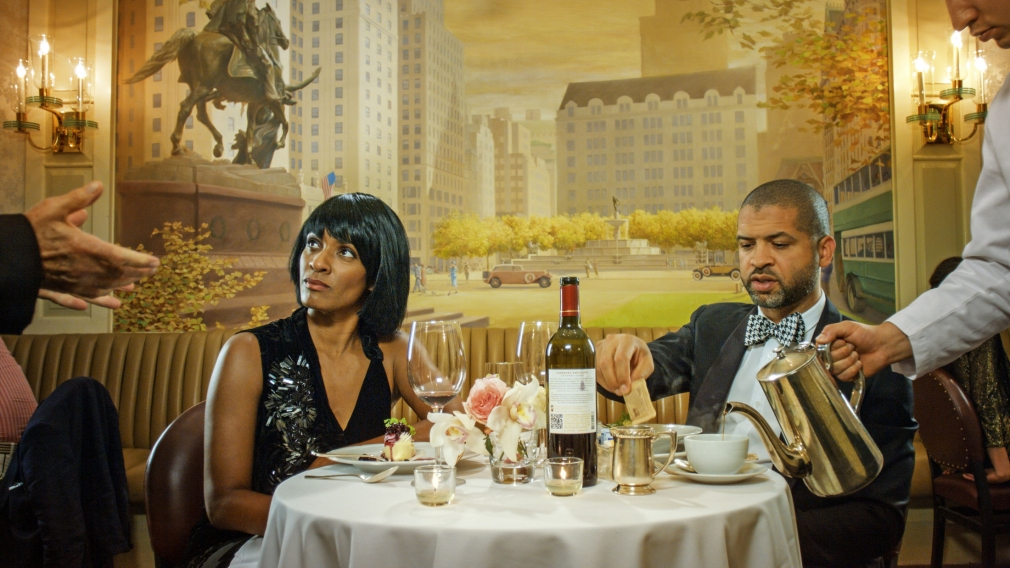 Ragnar Kjartansson Scenes from Western Culture, Dinner (Jason Moran and Alicia Hall Moran), 2015