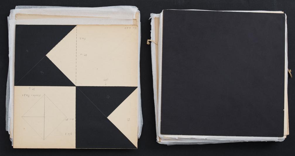 Lygia Clark Estudo Livro Obra (Book Work Study), 1983