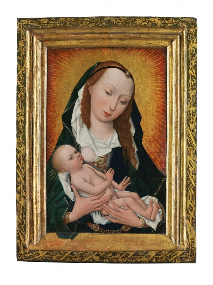 The Master of the Magdalene Legend(fl. c. 1490-c. 1540), The Virgin and Child