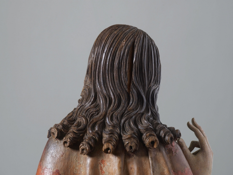 Andreas Frosch(fl. c. 1517), The Risen Christ (detail)