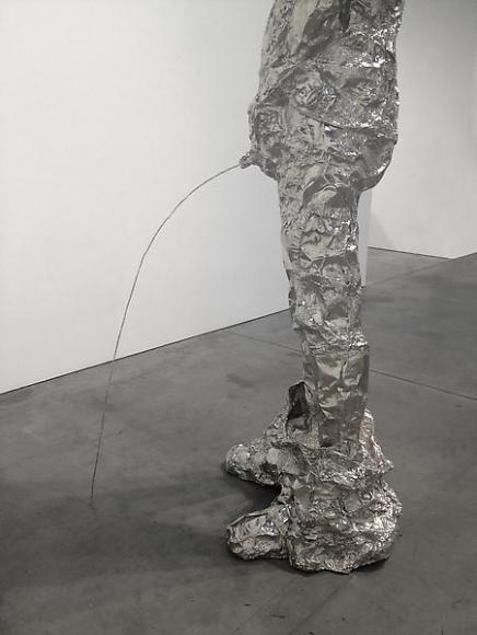 Tom Friedman, Untitled (peeing figure), 2012