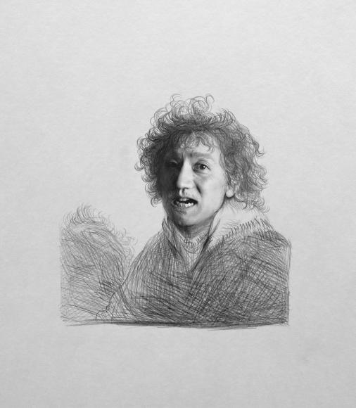 Yasumasa Morimura, Face Study VII, 1994,  Gelatin silver print,  Edition of 10