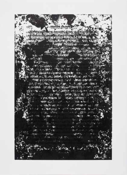 Glenn Ligon, Untitled, 2016,  Suite of 17 screenprints, Edition of 5