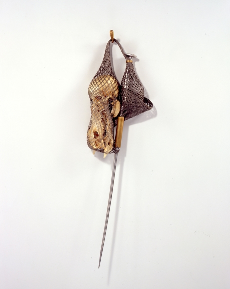 Tunga, Love me knot (Crocodile), 2007