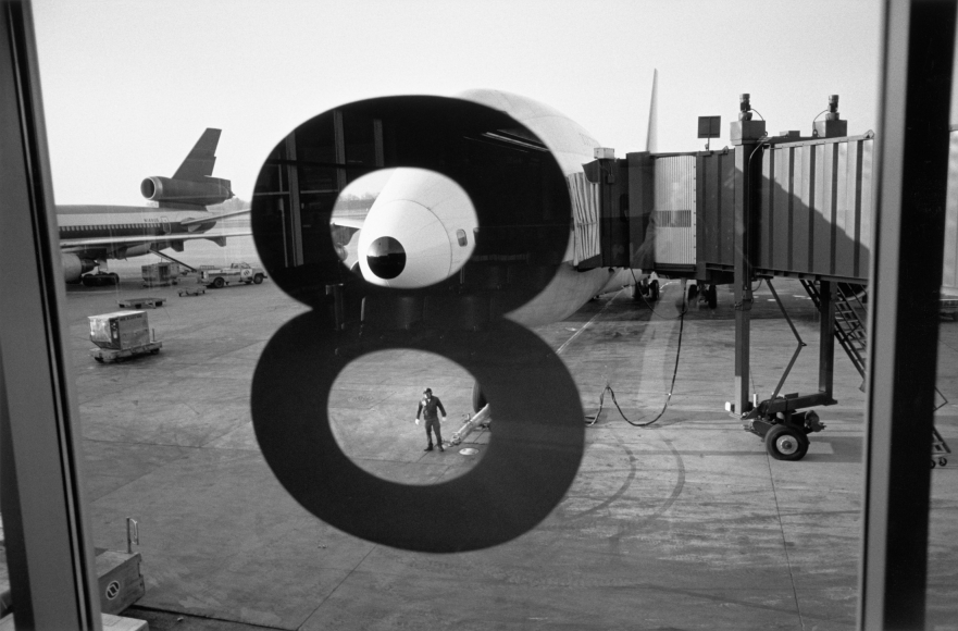 Lee Friedlander La Guardia Airport, New York City, 1986
