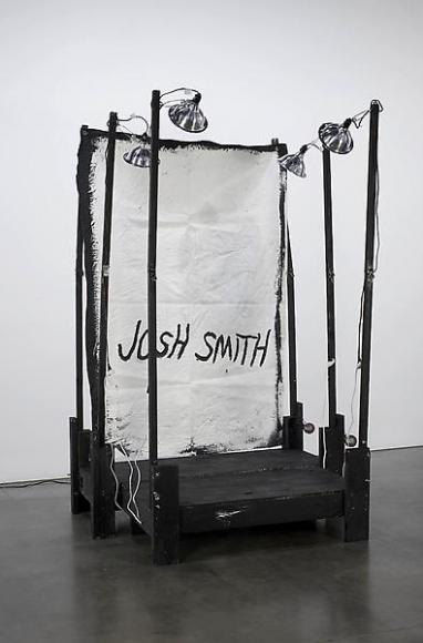 Josh Smith Stage Painting 1, 2011