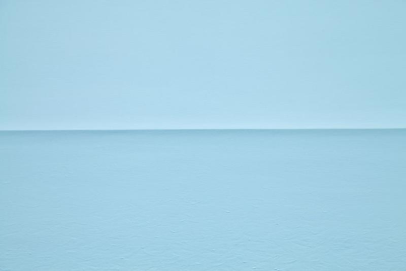 Tom Friedman Blue Styrofoam Seascape, 2014