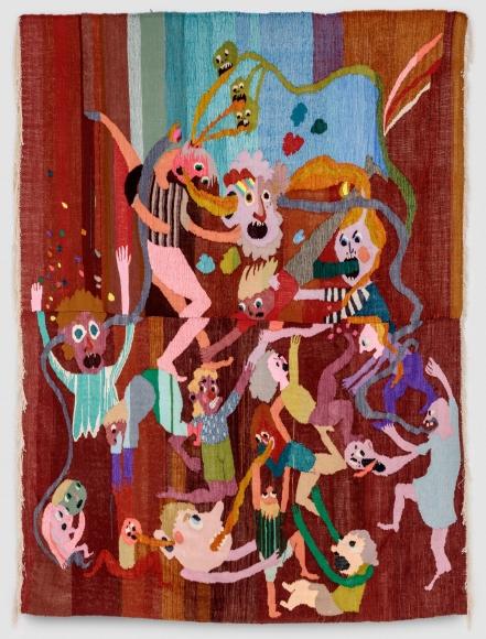 Christina Forrer Untitled (brown background), 2018
