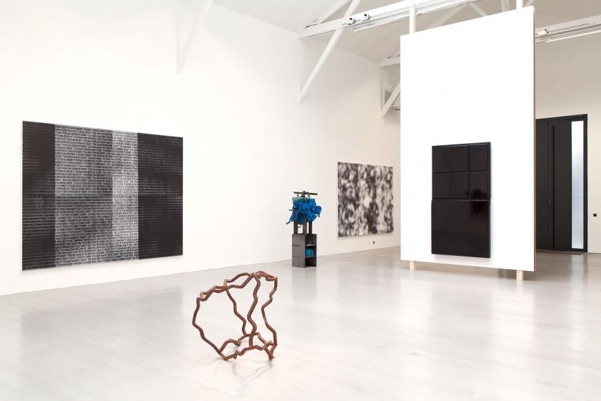 Carte Blanche to Luhring Augustine, Installation view
