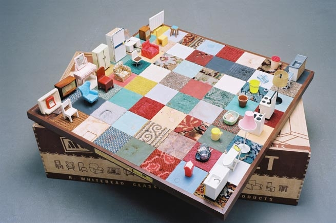 Rachel Whiteread Modern Chess Set, 2005