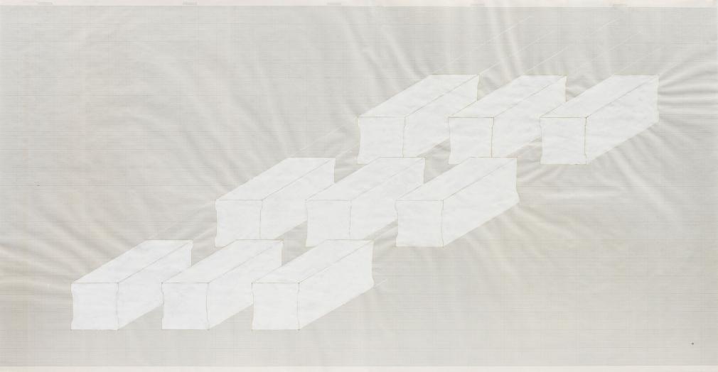 Rachel Whiteread Elongated Plinths, 1998
