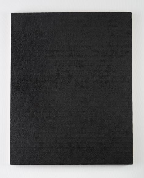 Glenn Ligon, White #12, 1994