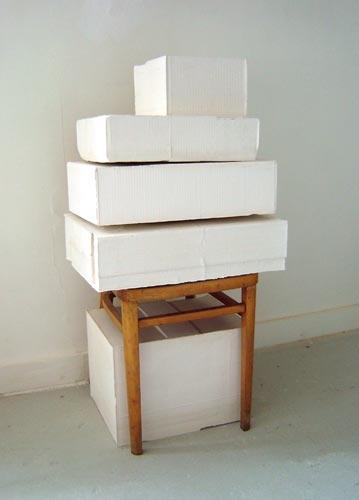 Rachel Whiteread LEFT, 2005