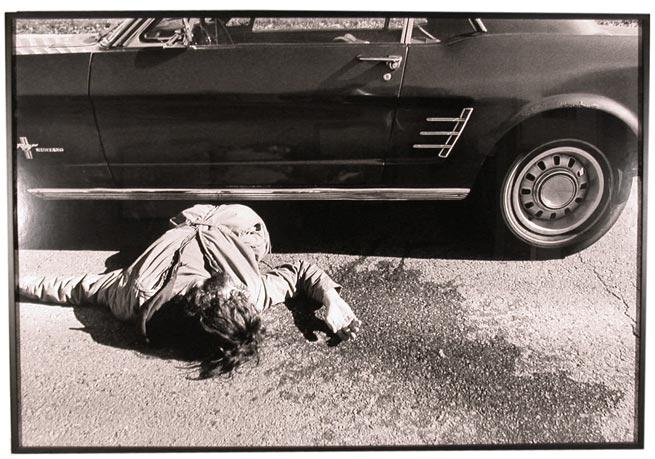 Sam Samore Body under car, 1973-2000