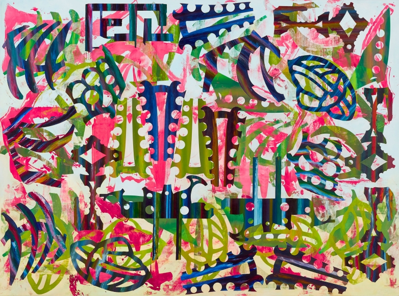 Philip Taaffe The Persistence of Vision, 2019