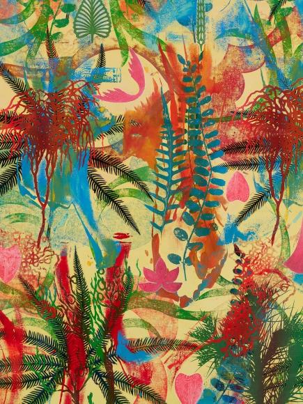 Philip Taaffe Syncopated Ferns, 2001-2019