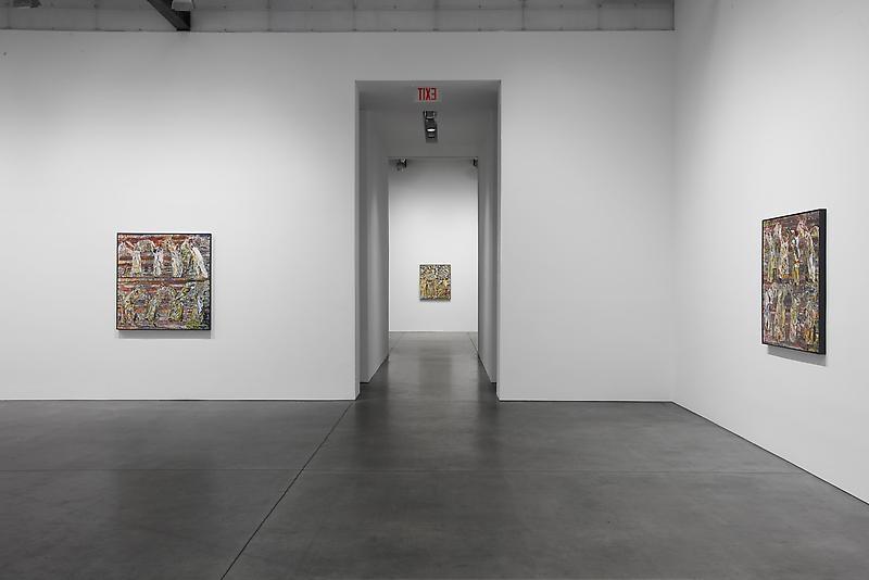 William Daniels Installation view