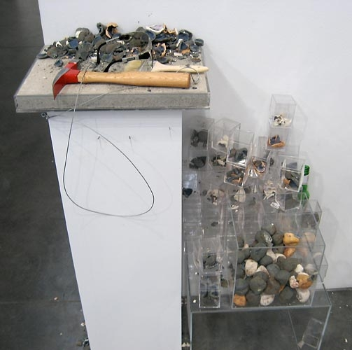 Paul Krause Untitled (geology experiment), 2008
