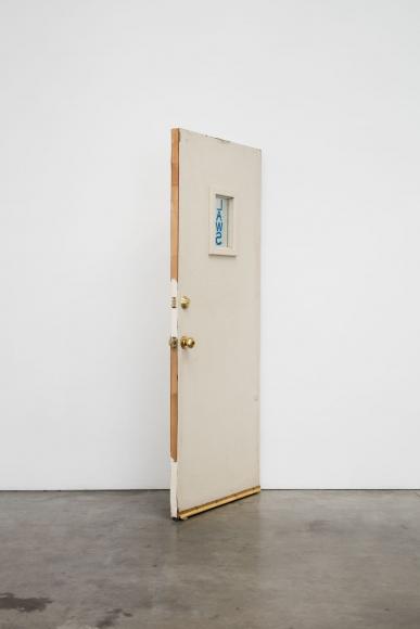 Oscar Tuazon, Wall Door, 2018