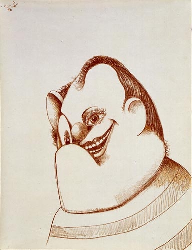 George Condo, Smiling Boy/Little John, 2006