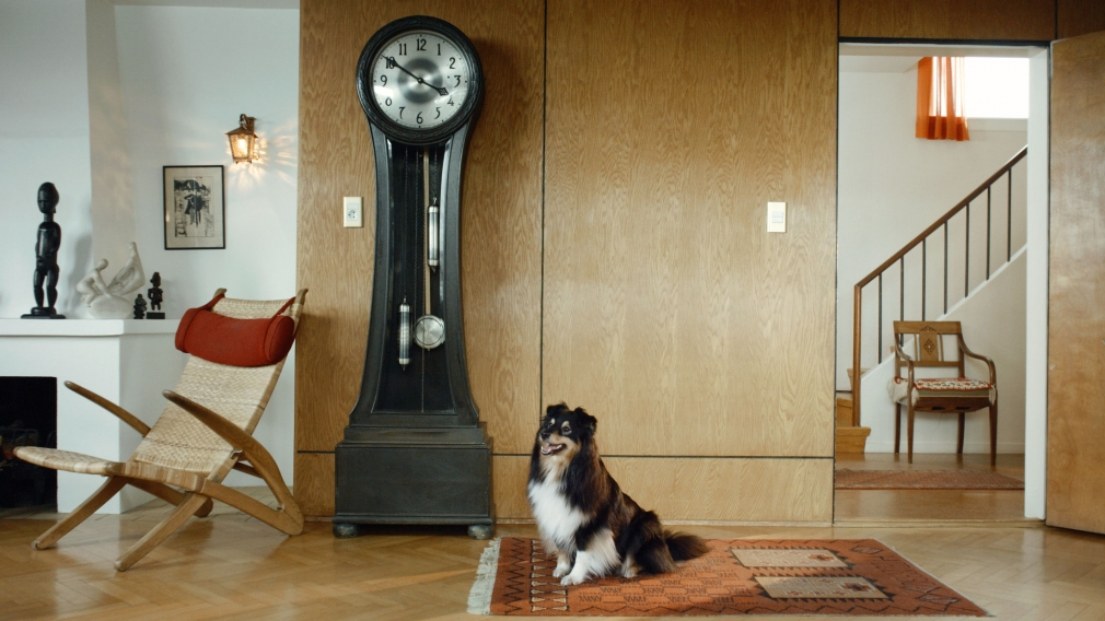 Ragnar Kjartansson Scenes from Western Culture, Dog and Clock, 2015