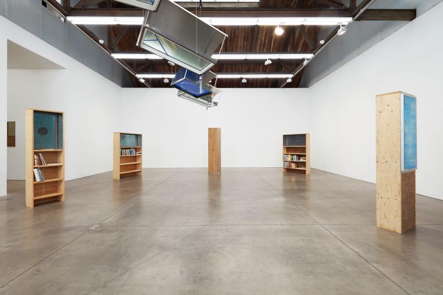 Oscar Tuazon, Installation view