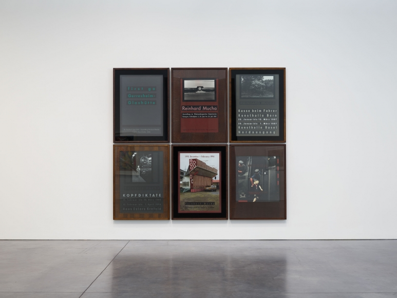 Prints and Editions  Installation view  January 25 – February 23, 2019  Luhring Augustine, New York  Pictured: Reinhard Mucha