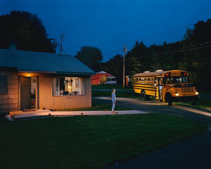 Gregory Crewdson, Untitled (beckoning bus driver), 2001-2002