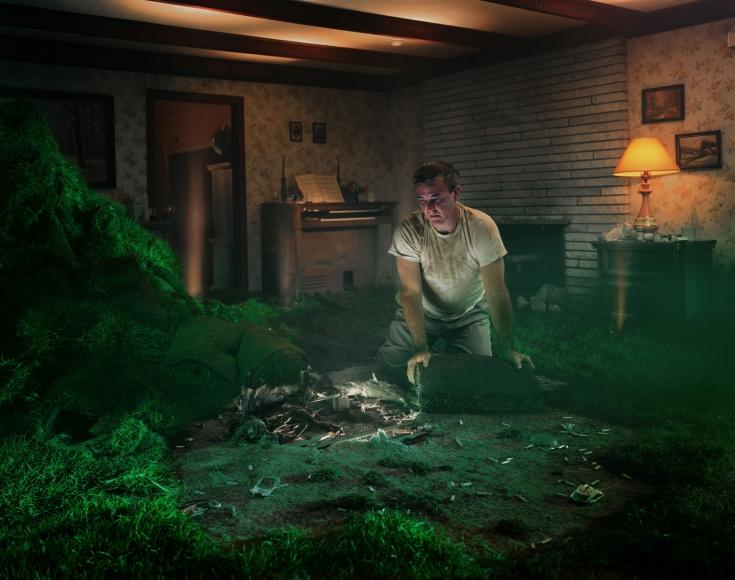 Gregory Crewdson Untitled (sod man),1999