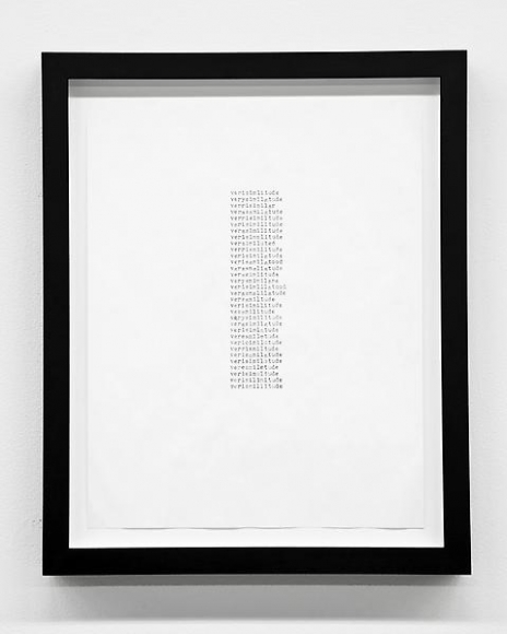 Tom Friedman, Untitled (verisimilitude), 2012