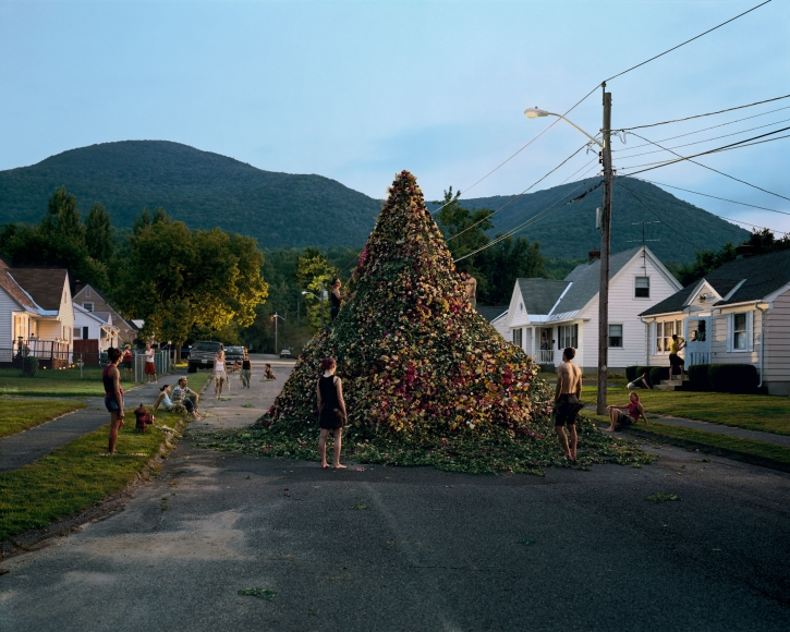 Gregory Crewdson, Untitled (flower pile), 2001
