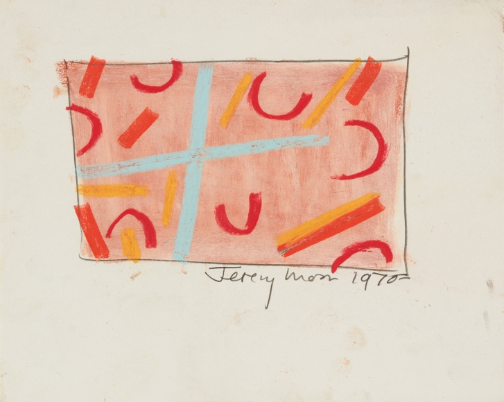 Jeremy Moon, Drawing [1970], 1970