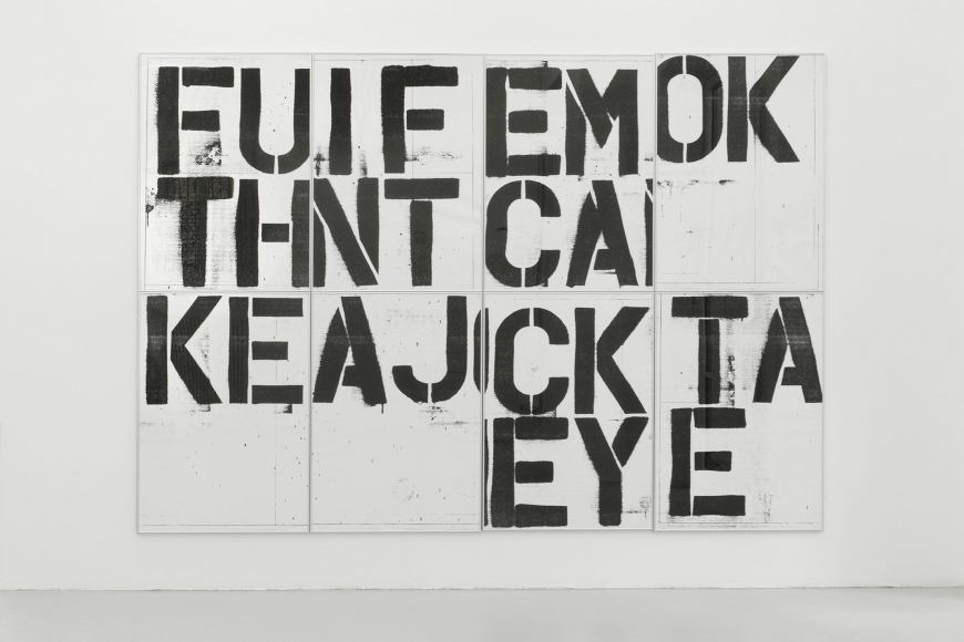 Christopher Wool, Untitled (Billboard Graz), 1991/2019