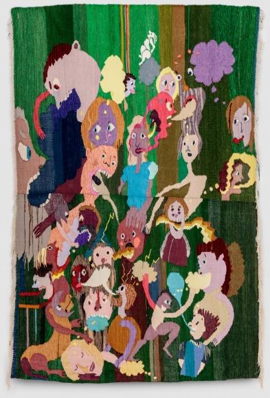 Christina Forrer Untitled (green background), 2018