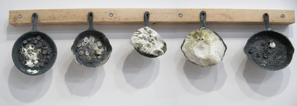 Paul Krause, Skillets and change, 2008