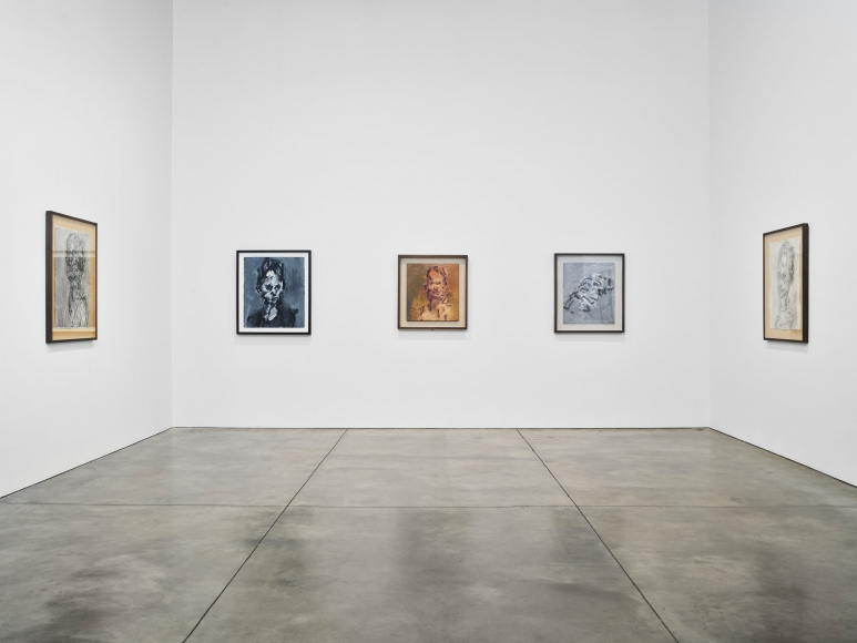 Frank Auerbach Selected Works, 1978-2016