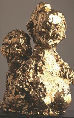 George Condo Madame Voltaire, 2005
