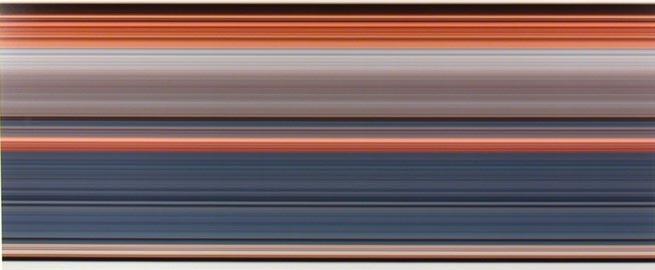 Tom Friedman Untitled, Colored Horizontal Stripes, 1998