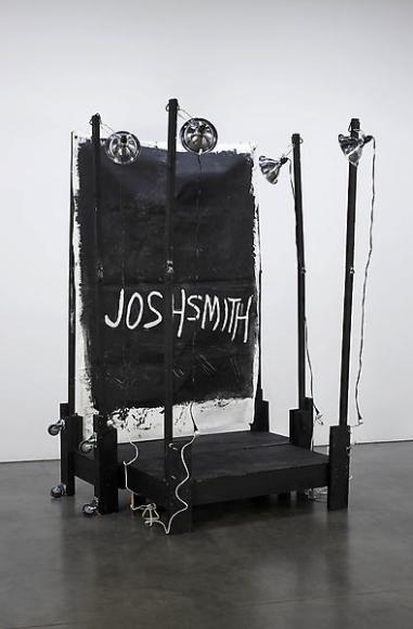 Josh Smith Stage Painting 6, 2011