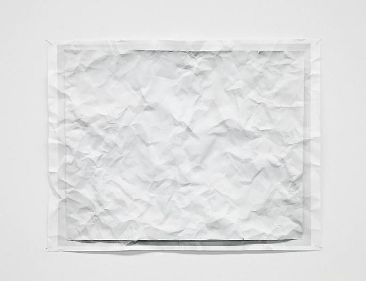 Tom Friedman, Untitled (wrinkled photo), 2012