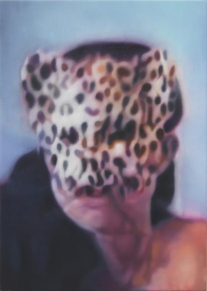Johannes Kahrs, Girl with mask, 2014