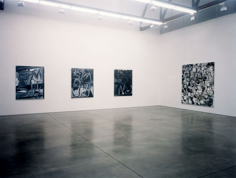 Color Aside, Installation view