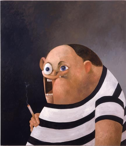 George Condo, Big John, 2006