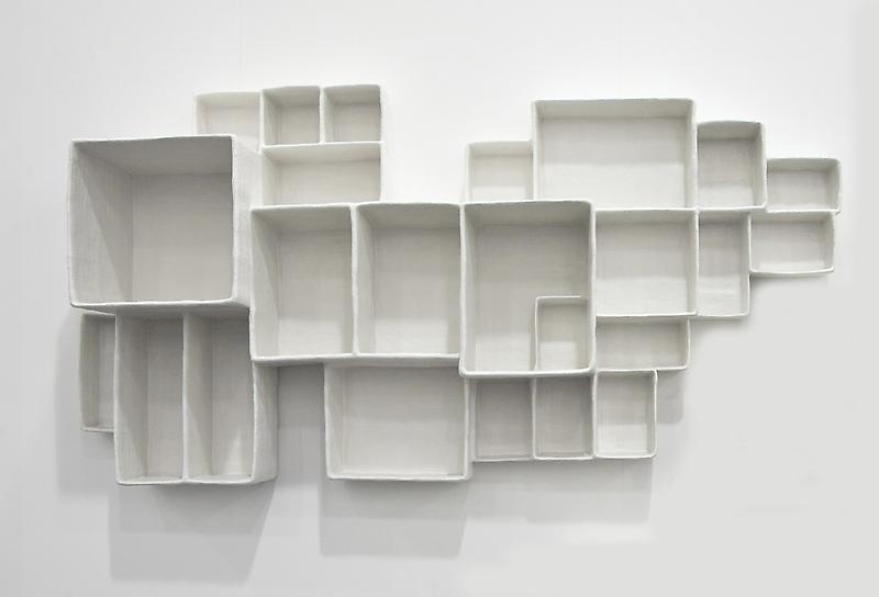 Andrea Zittel A-Z Aggregated Stacks #7, 2012